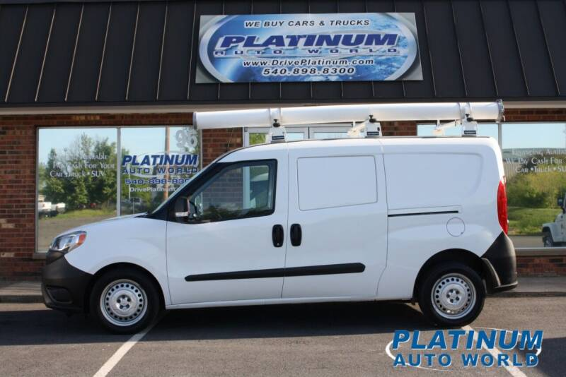 2017 RAM ProMaster City Cargo for sale at Platinum Auto World in Fredericksburg VA