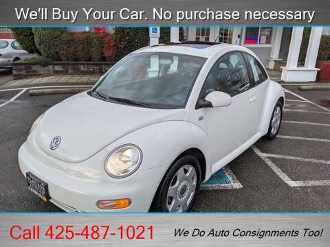 2001 Volkswagen New Beetle for sale at Platinum Autos in Woodinville WA