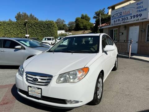 2010 Hyundai Elantra for sale at MotorMax in Lemon Grove CA