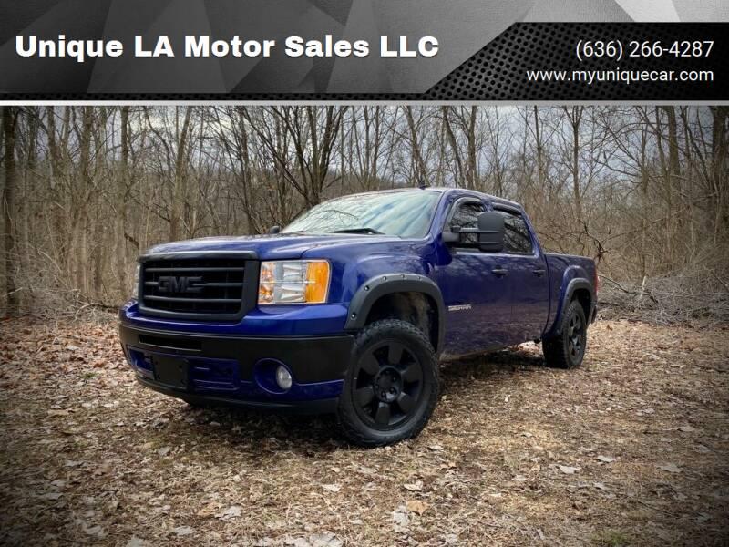 2010 GMC Sierra 1500 for sale at Unique LA Motor Sales LLC in Byrnes Mill MO