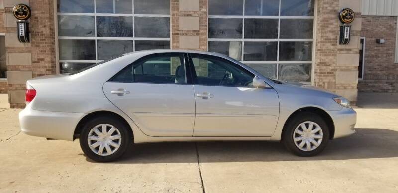 2005 Toyota Camry for sale at Hampshire Motor Sales Inc. in Hampshire IL