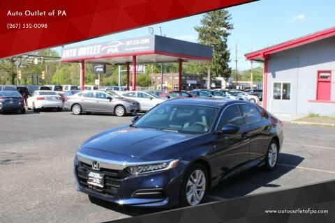 2019 Honda Accord for sale at Deals N Wheels 306 in Burlington NJ