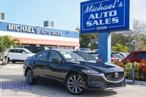 2020 Mazda MAZDA6 for sale at Michael's Auto Sales Corp in Hollywood FL