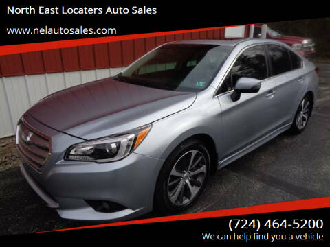2017 Subaru Legacy for sale at North East Locaters Auto Sales in Indiana PA