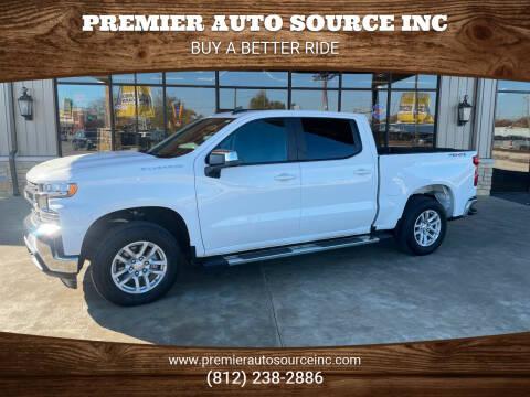 2019 Chevrolet Silverado 1500 for sale at Premier Auto Source INC in Terre Haute IN