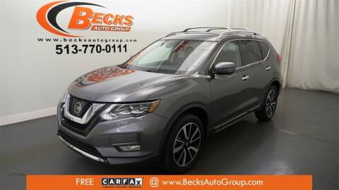2017 Nissan Rogue for sale at Becks Auto Group in Mason OH