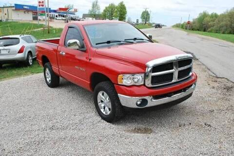 2003 Dodge Ram Pickup 1500 for sale at Classic Car Deals in Cadillac MI
