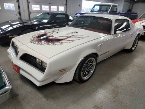 1978 Pontiac Trans Am for sale at CRUZ'N MOTORS - Classics in Spirit Lake IA