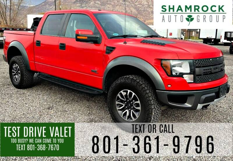 2012 Ford F-150 for sale at Shamrock Group LLC #1 in Pleasant Grove UT