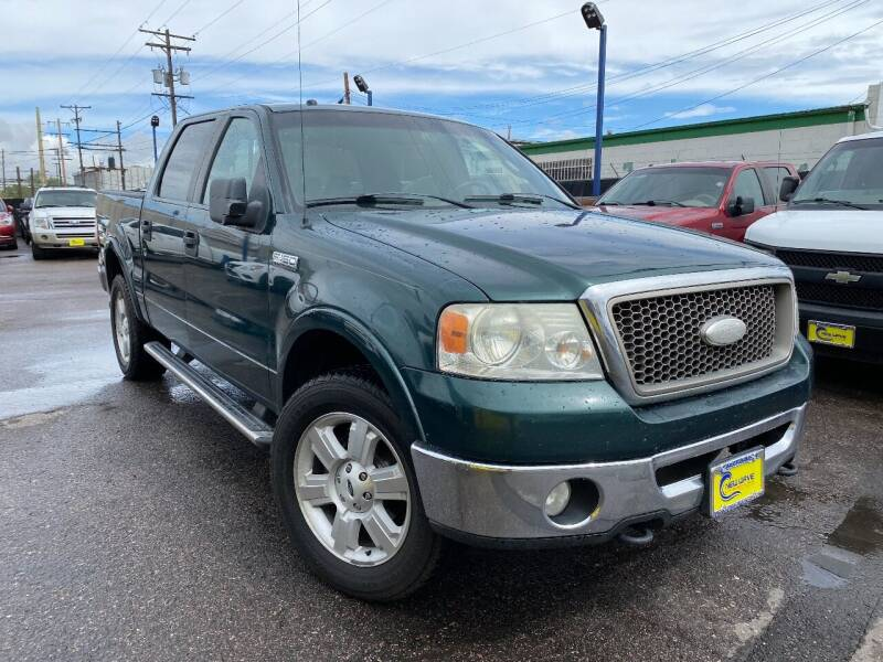 2007 Ford F-150 for sale at New Wave Auto Brokers & Sales in Denver CO