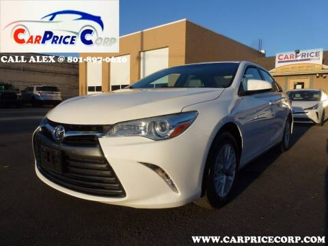 2017 Toyota Camry for sale at CarPrice Corp in Murray UT