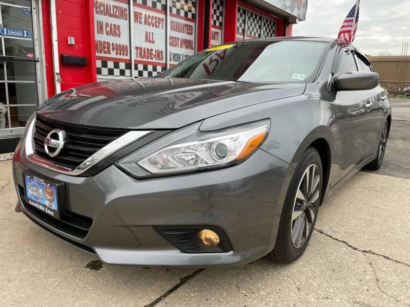 2017 Nissan Altima for sale at AUTORAMA SALES INC. - Farmingdale in Farmingdale NY