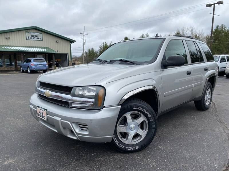 2006 Chevrolet TrailBlazer for sale at Lakes Area Auto Solutions in Baxter MN