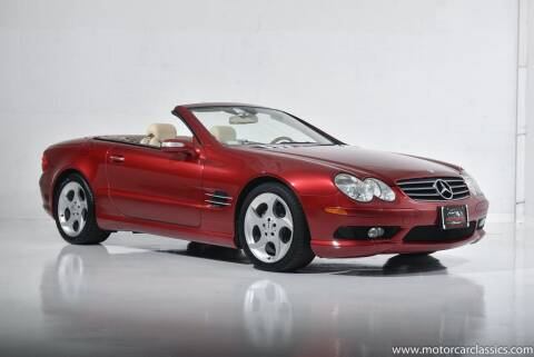 2005 Mercedes-Benz SL-Class for sale at Motorcar Classics in Farmingdale NY
