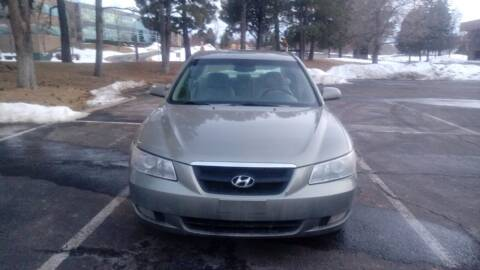 2008 Hyundai Sonata for sale at QUEST MOTORS in Englewood CO