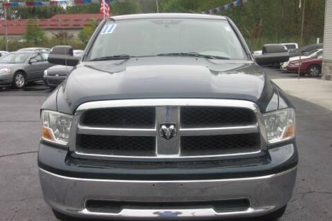 2011 RAM Ram Pickup 1500 for sale at Burgess Motors Inc in Michigan City IN