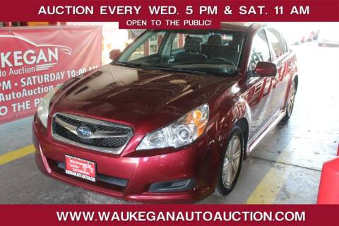 2011 Subaru Legacy for sale at Waukegan Auto Auction in Waukegan IL