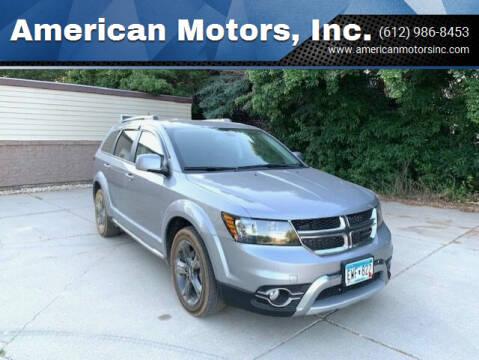 2018 Dodge Journey for sale at American Motors, Inc. in Farmington MN