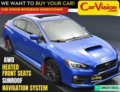 2015 Subaru WRX for sale at Car Vision Mitsubishi Norristown in Norristown PA