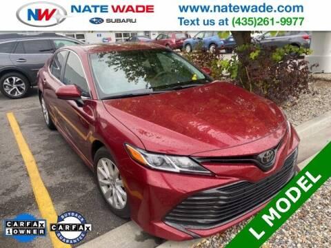 2018 Toyota Camry for sale at NATE WADE SUBARU in Salt Lake City UT