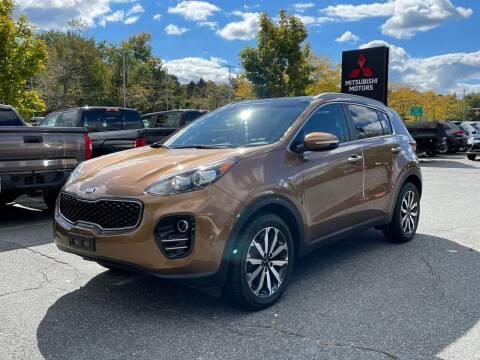 2017 Kia Sportage for sale at Midstate Auto Group in Auburn MA