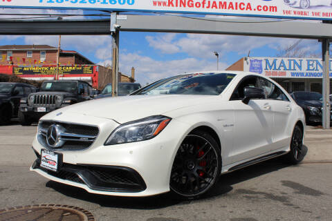 2017 Mercedes-Benz CLS for sale at MIKEY AUTO INC in Hollis NY