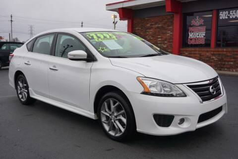 2015 Nissan Sentra for sale at Premium Motors in Louisville KY