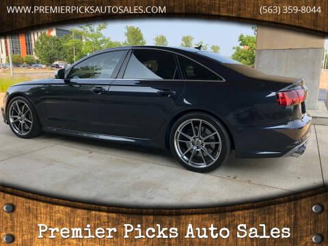 2016 Audi S6 for sale at Premier Picks Auto Sales in Bettendorf IA