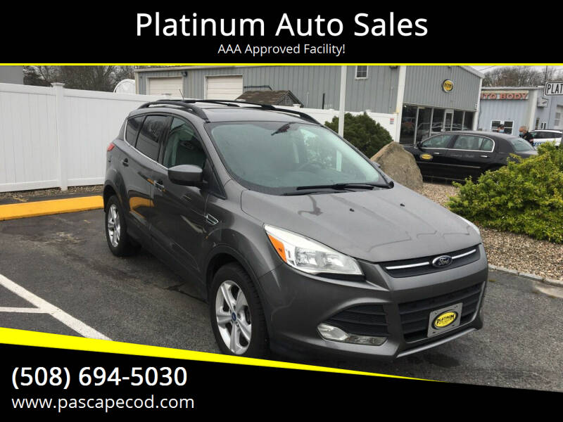 2013 Ford Escape for sale at Platinum Auto Sales in South Yarmouth MA