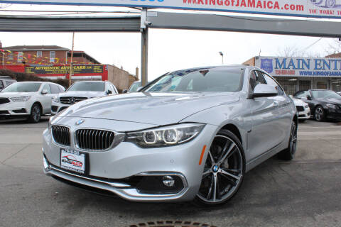 2019 BMW 4 Series for sale at MIKEY AUTO INC in Hollis NY
