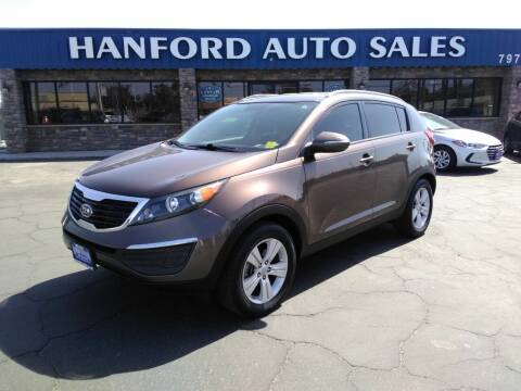 2012 Kia Sportage for sale at Hanford Auto Sales in Hanford CA