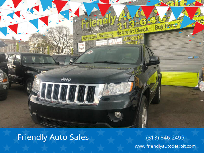 2012 Jeep Grand Cherokee for sale at Friendly Auto Sales in Detroit MI