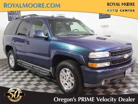 2005 Chevrolet Tahoe for sale at Royal Moore Custom Finance in Hillsboro OR