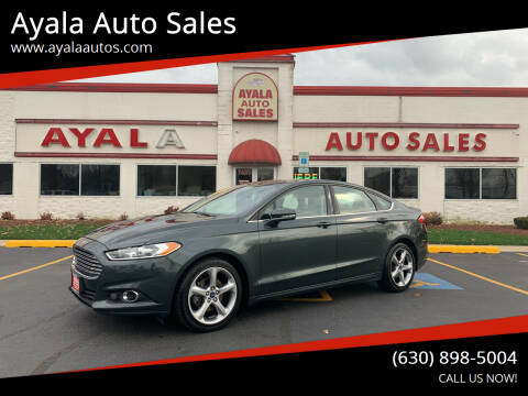 2015 Ford Fusion for sale at Ayala Auto Sales in Aurora IL