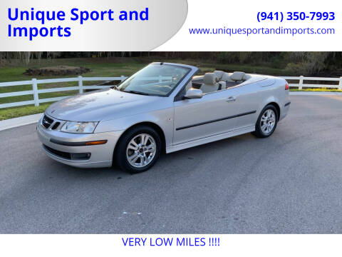 2006 Saab 9-3 for sale at Unique Sport and Imports in Sarasota FL