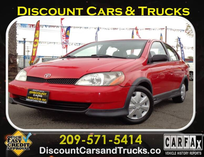 2001 Toyota ECHO for sale at Discount Cars & Trucks in Modesto CA