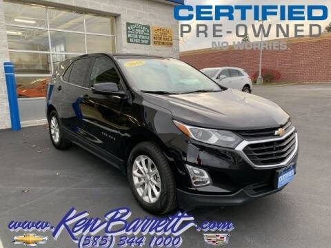2018 Chevrolet Equinox for sale at KEN BARRETT CHEVROLET CADILLAC in Batavia NY