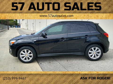 2015 Mitsubishi Outlander for sale at 57 Auto Sales in San Antonio TX