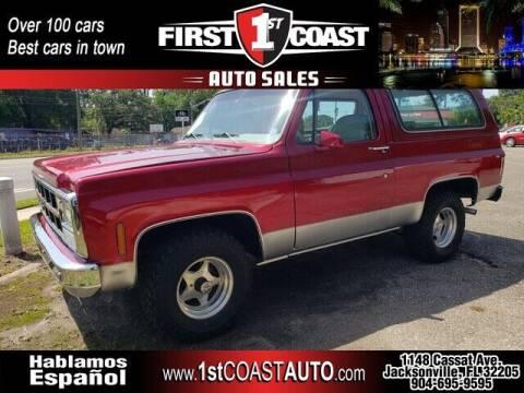 1980 GMC Jimmy for sale at 1st Coast Auto -Cassat Avenue in Jacksonville FL