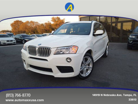 2014 BMW X3 for sale at Automaxx in Tampa FL