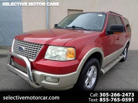 2006 Ford Expedition for sale at Selective Motor Cars in Miami FL