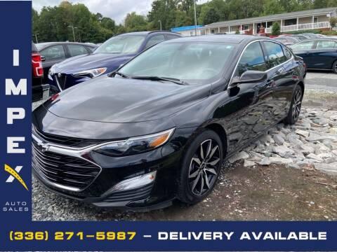 2020 Chevrolet Malibu for sale at Impex Auto Sales in Greensboro NC