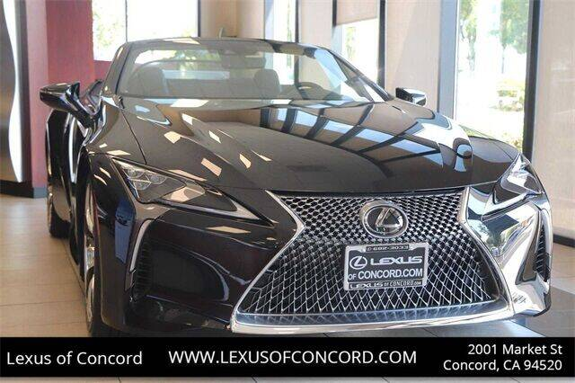 2021 Lexus LC 500 Convertible for sale in Concord, CA