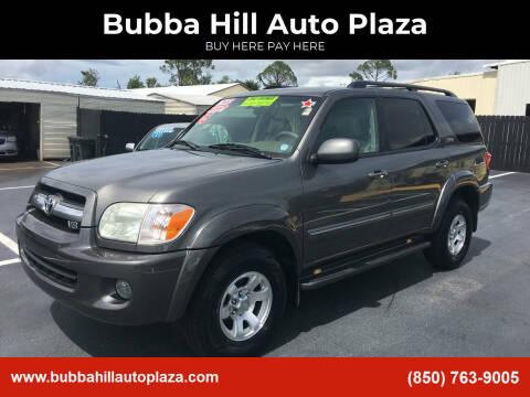 2005 Toyota Sequoia for sale at Bubba Hill Auto Plaza in Panama City FL