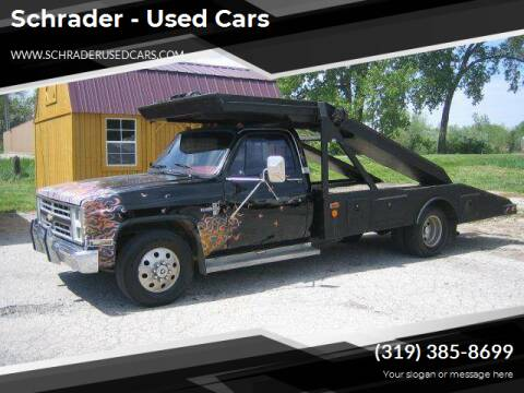 1988 Chevrolet R/V 30 Series for sale at Schrader - Used Cars in Mt Pleasant IA