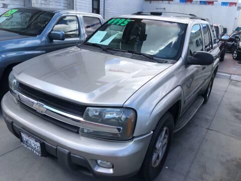 2002 Chevrolet TrailBlazer for sale at Excelsior Motors , Inc in San Francisco CA