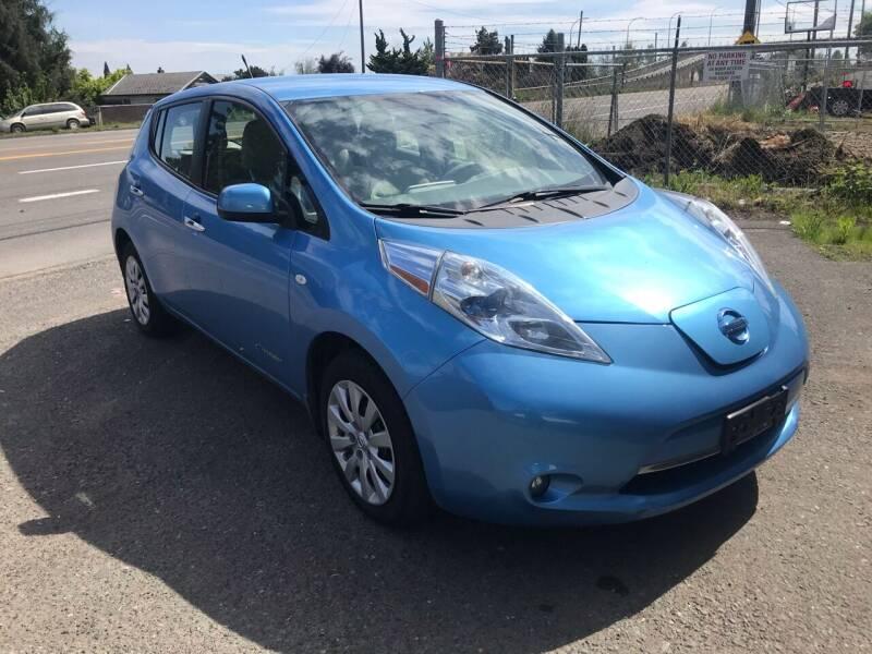 2011 Nissan LEAF for sale at EV RIDES LLC in Portland OR