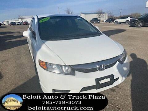 2011 Honda Civic for sale at BELOIT AUTO & TRUCK PLAZA INC in Beloit KS