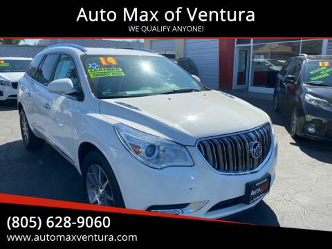 2014 Buick Enclave for sale at Auto Max of Ventura in Ventura CA