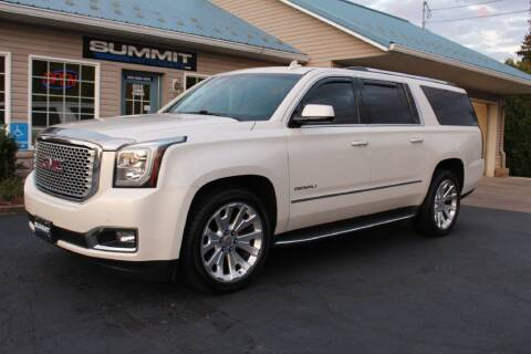2015 GMC Yukon XL for sale at Summit Motorcars in Wooster OH